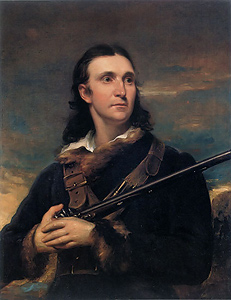 John James Audubon portrait by John Syme, 1826