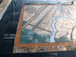 The Great Map mosaic at Vintondale