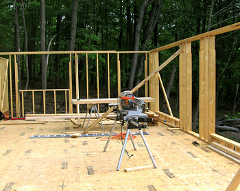 First floor construction