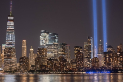 Tribute in Lights 9-11-2017