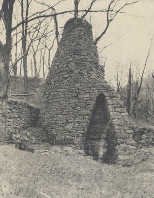 The Canoe Furnace used trees from the Canoe Valley as fuel