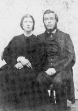 William and Catherine Plummer, the original settlers in the hollow named for them.